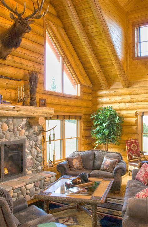 log home fireplaces fit santa real log homes