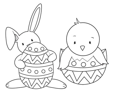 easter coloring pages crazy projects