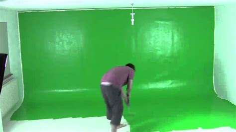 painting green screen 60 seconds youtube