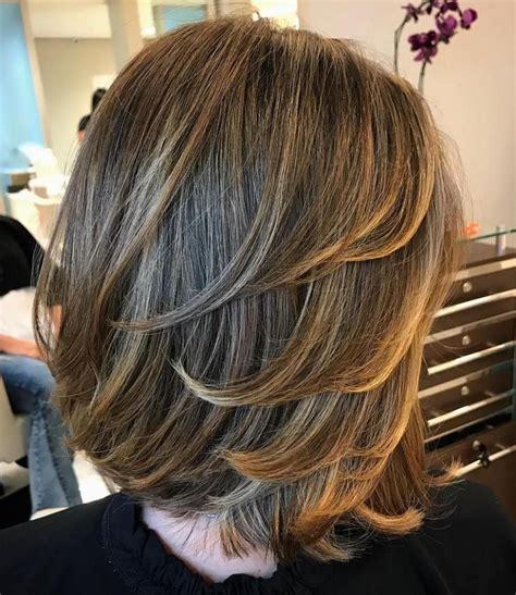 80 sensational medium length haircuts thick hair hairstyles