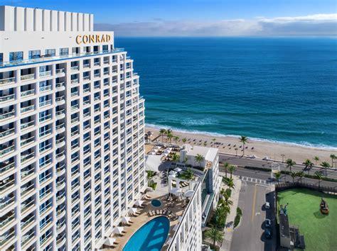 conrad fort lauderdale beach luxury hotel fort lauderdale
