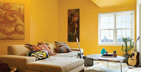 yellow living room ideas inspirational paint colors behr