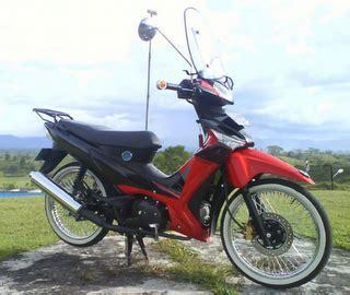 modifikasi honda supra 125d retro style modif sepeda