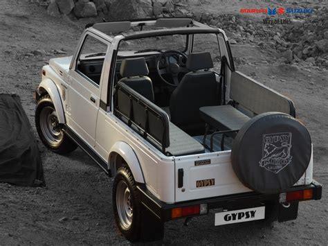 maruti gypsy major upgrade adds diesel range