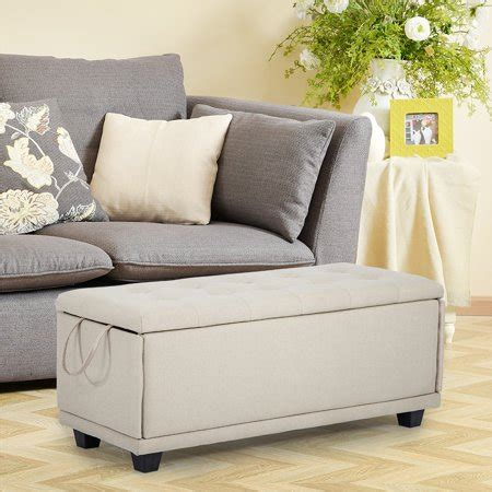 storage ottoman bench footrest bench stool bedroom bench