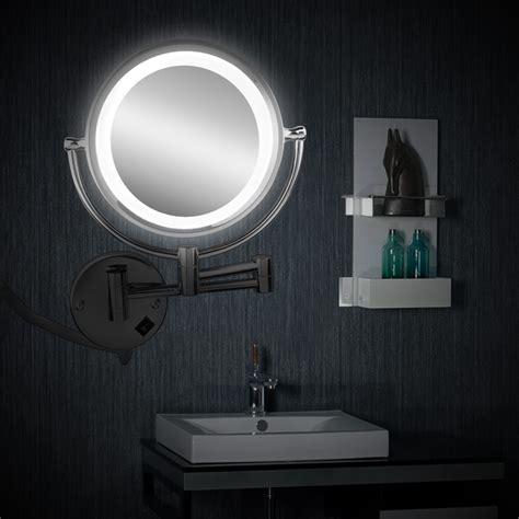 8 5inch led light illuminated makeup mirror dual