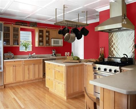 making home sing red paint colors kitchen