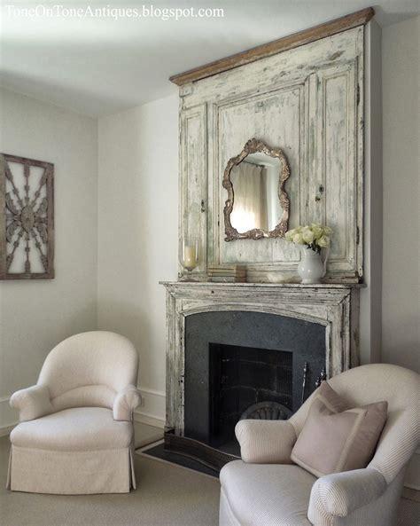 tone tone interior garden design antique mantels