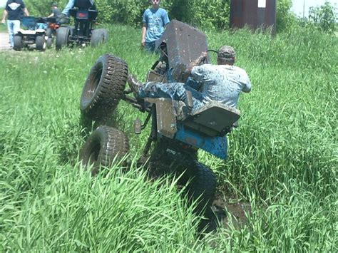 wheel monster mower stand custom lawn mowers pinterest
