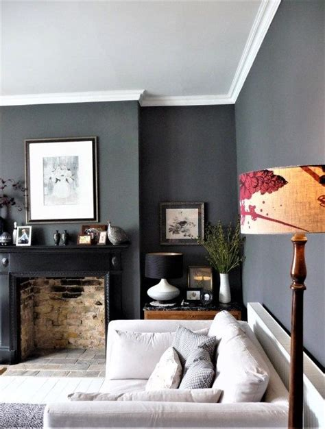shades grey gorgeous lounge grey walls living room