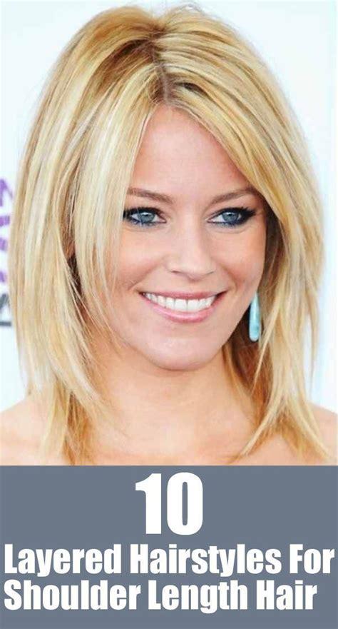 20 great shoulder length layered hairstyles å og