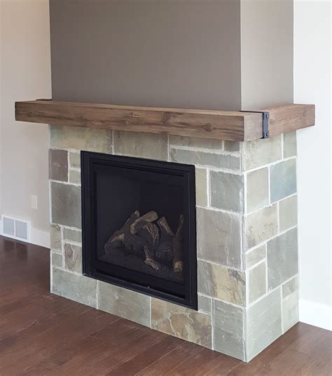 natural wood combustible mantel hechler mainstreet