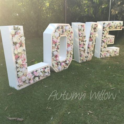 giant love letters ready hire sydney weddings events