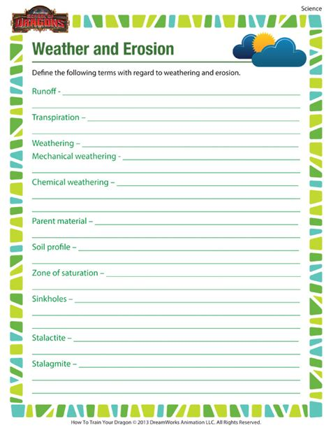 weather worksheet 791 weather conditions worksheets