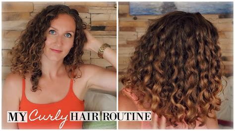 updated frizz proof curly hair routine youtube