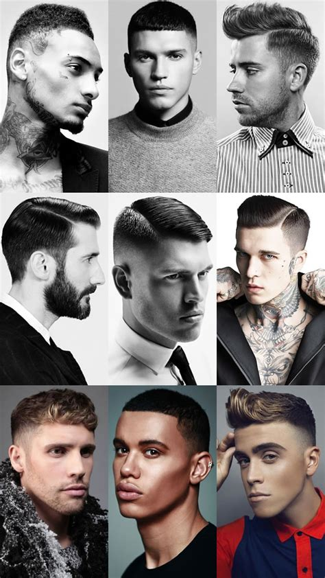 barber hairstyle guide fade haircut