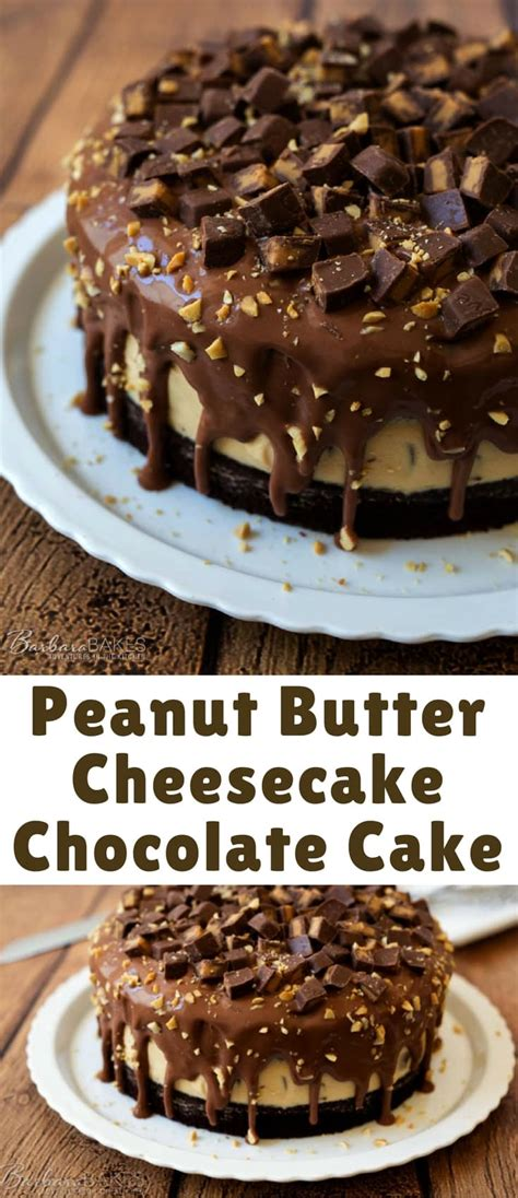 peanut butter cheesecake chocolate cake blogger bests