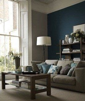 living room gray paint teal accent wall gray