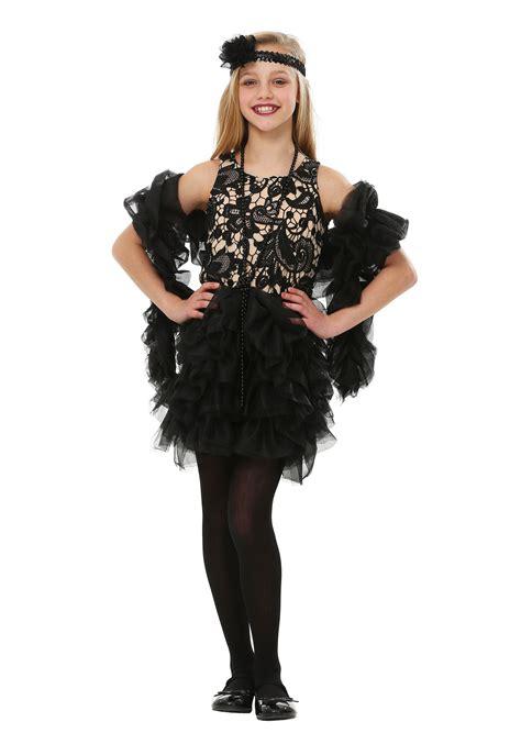 child dazzling flapper costume