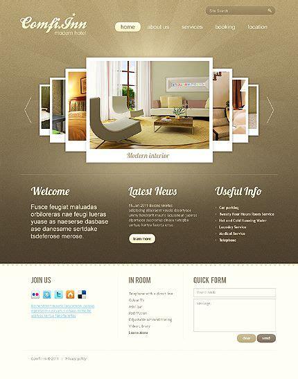hotel html5 website design homepage image carousel gallery