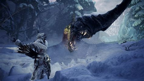 monster hunter world iceborne trailers show weapons actions