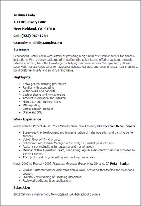 customer service assistant banking resume templatedose