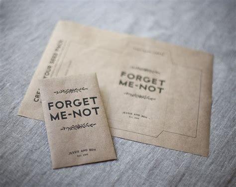 diy seed envelope seed wedding favors wedding favors