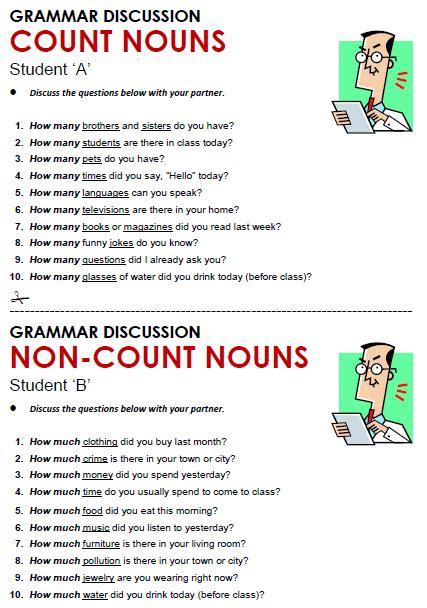count count nouns grammar