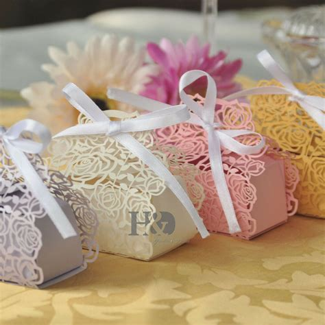 wholesale rose candy boxes wedding favor party gift