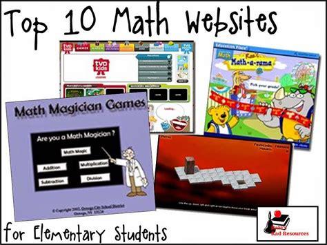 top 10 math websites elementary students math websites