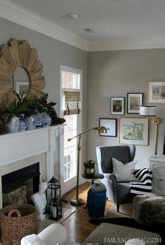 wall colors essential gray eider white trim kitchen