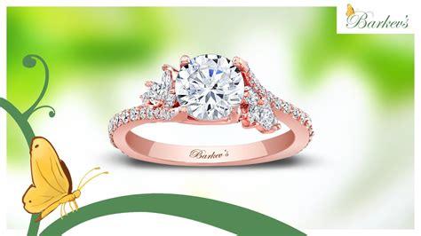 barkev rose gold engagement ring 7908lp youtube