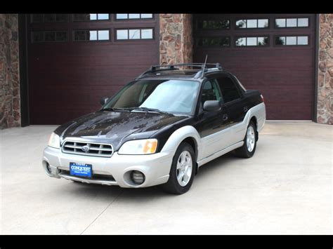 2003 subaru baja sport sale greeley 80634 conquest