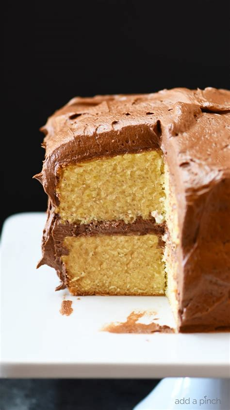 vanilla cake recipe add pinch
