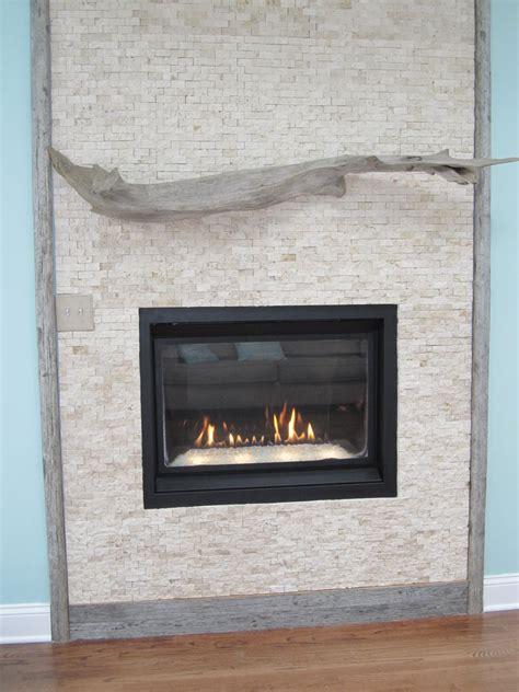 sea driftwood fireplace mantle