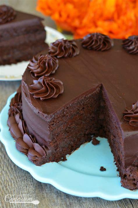 ultimate homemade chocolate cake recipe confessions
