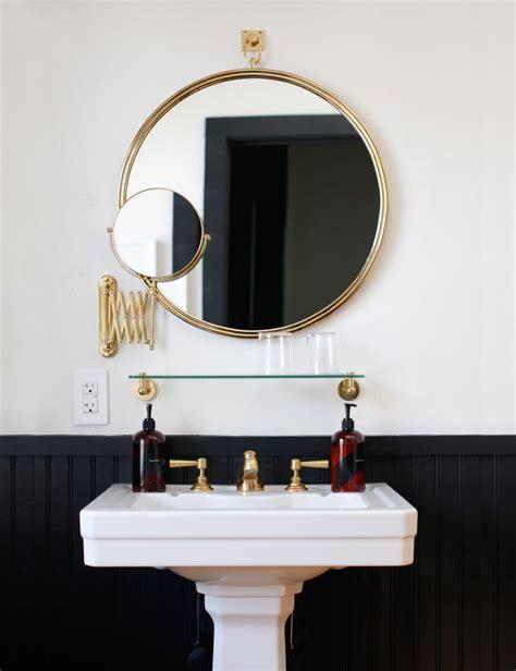easy bathroom decor refresh bathroom mirror anne sage