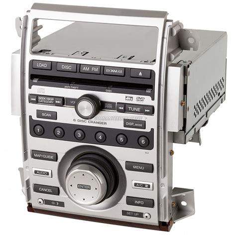2005 acura rl radio cd player fm xm