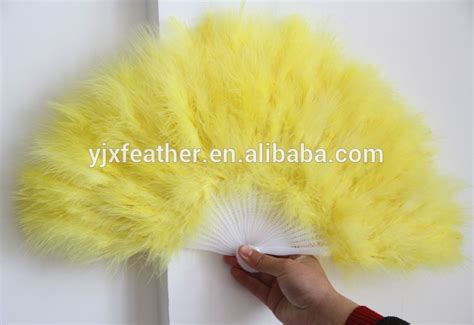 alibaba china feather hand fan turkey feather fans
