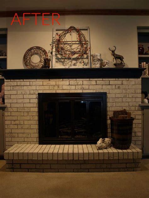 10 gorgeous ways transform brick fireplace