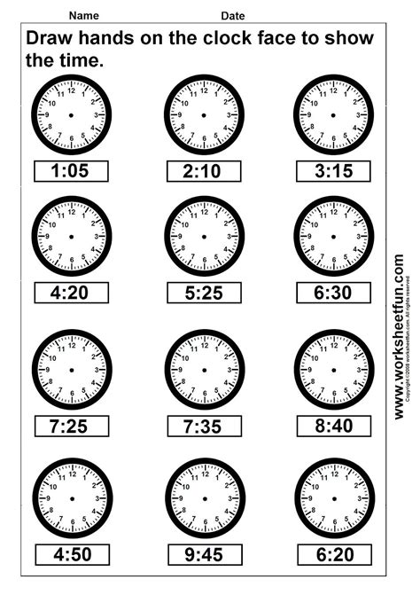 Time Clock Printable Worksheets.html