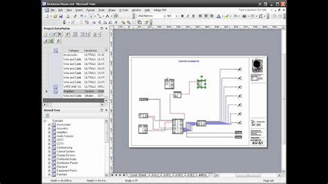 tools si 5 visio schematic diagram youtube