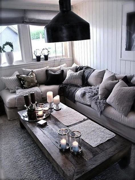 29 beautiful black silver living room ideas inspire