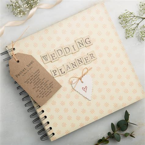 wedding planner book posh totty designs interiors notonthehighstreet