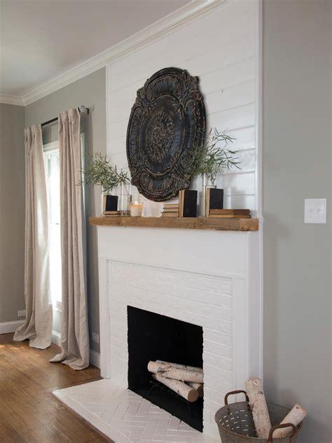 15 gorgeous painted brick fireplaces hgtv decorating