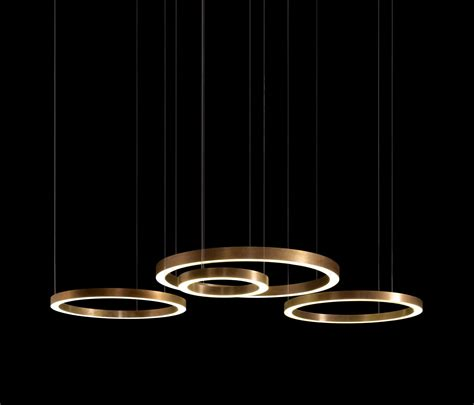 light ring horizontal suspended lights henge architonic