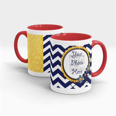 custom message coffee mug design