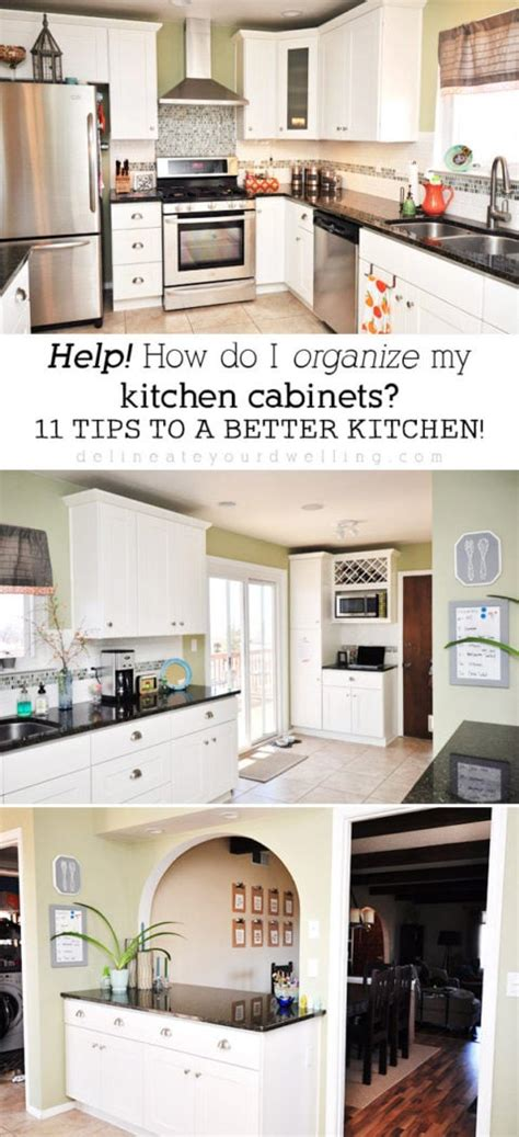 11 tips organizing kitchen cabinets ideal locations