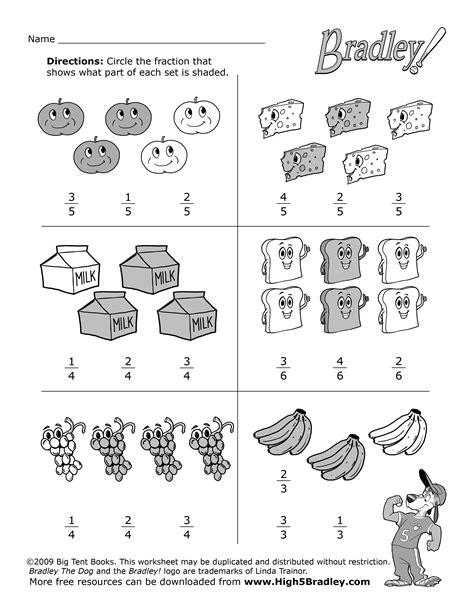 19 images 2nd grade math fractions worksheets math