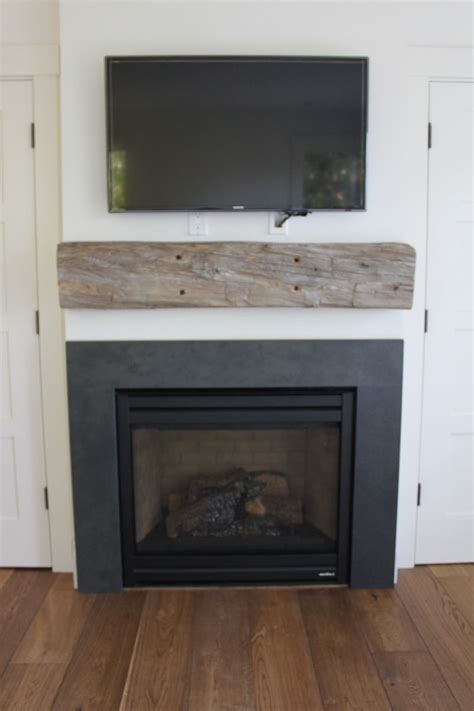 black slate surround stone fireplace surround
